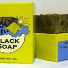 Raw Black Soap  6oz