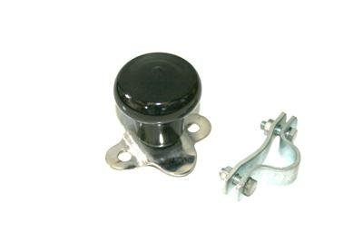 FORD FERGUSON IH STEERING WHEEL SPINNER KNOB - BLACK				\