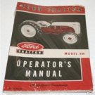 FORD 8N OWNERS OPERATORS MANUAL