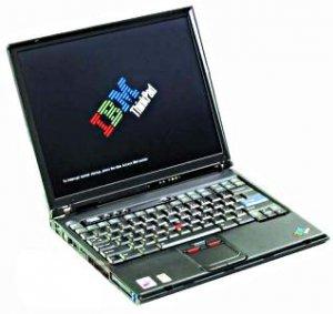 IBM T40 1.5GHZ CENTRINO 512MB 40GB CDRW/DVD WIFI LAPTOP