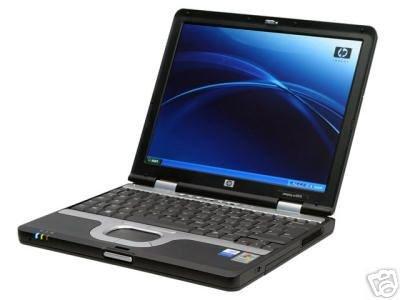 "HP NC4010 1.6GHZ 512MB 40GB 56K LAN 12"" XP PRO WIFI LIGHT LAPTOP"