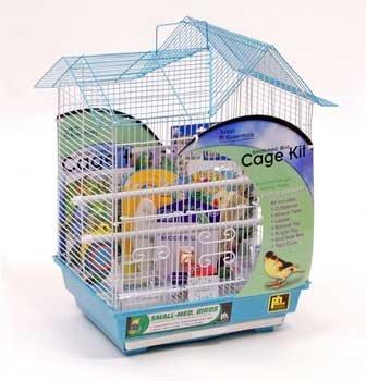 Bird Cage Starter Kit 14x11 Wh/bl