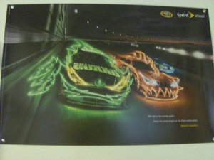 2008 Sprint Cup Beast Poster