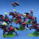 Britains Deetail Toy Soldiers by DSG - Commemorative US 7th Cavalry Troopers Mounted
