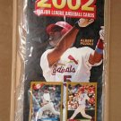 2002 Topps Baseball Cards promotional promo sign - Albert Pujols - never used!