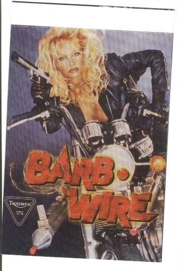 Barb Wire movie promo promotional sweepstakes sticker card - Pamela (Pam) Anderson