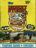 1991 Topps Desert Storm - Victory Series wax box - unopened - 36 packs