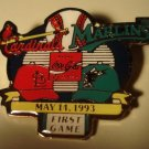 1993 Cardinals vs Marlins cloisonné or enamel pin