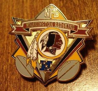 Washington Redskins cloisonné or enamel pin