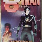 8 Man VHS video movie - like the 8Th Man cartoon - live action Japanese robot superhero