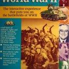 World War II 2 interactive simulation PC computer video game - MIB,  never opened!