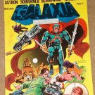Galaxia comic book magazine #1 1981 NM condition