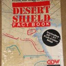 "Desert Storm Fact Book by GDW - with 22"" x 31"" full color map! factory wrapped - MINT"