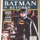 Batman Returns Official Movie Souvenir photo magazine by Topps - MINT