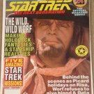 Star Trek The Next Generation magazine Vol. #24, Worf, holodeck, MINT
