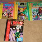 DC comics Who's Who in the DC Universe #'s 11, 12, 13, & Impact #3 - all factory sealed, MINT