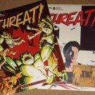 Threat comic book magazine #7 & 8 - Fantagraphics books, NM / MINT