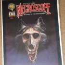 Necroscope comic book magazine #1 by Malibu Comics - NM / MINT