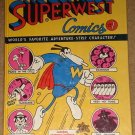 Superwest comic book (HARDBACK) #1 by Mattioli - adults ONLY! MINT