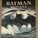 Batman Returns Official Movie book - packed with full color photos! - NM / MINT