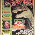 Fangoria horror magazine #124 - Dinosaurs, Skinner, Frankenstein, Jurassic Park, NM / MINT