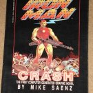 Iron Man Crash - 1st computerized comic book graphic novel, 1988, 1st print