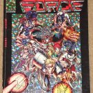 Cyber Force trade paperback comic book by Image comics, CyberForce