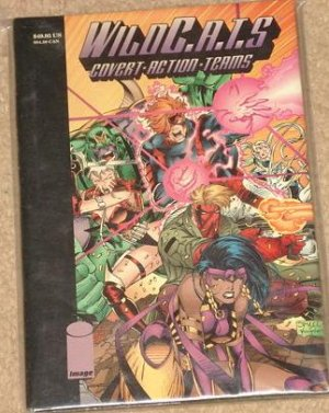 Wildcats (WildC.A.T.S.) HARDBACK comic book by Image comics - MINT