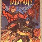 Batman / Demon comic book - deluxe format - MINT