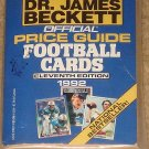 Beckett Official Price Guide to Football cards book - #11, 1992