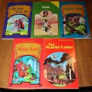 5 Pocket Classic & Biography books (like Classics Illustrated) Pele, Shakespeare, MORE!