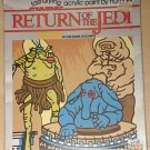 Star Wars Return of the Jedi Paint by Number set - Snooties & the Rebo (Cantina) Band 1983