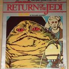 Star Wars Return of the Jedi Paint by Number set - Jabba the Hutt 1983 - Never opened!