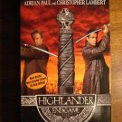 Highlander - EndGame VHS video tape movie, Adrian Paul, Christopher Lambert
