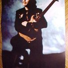 "Carlos Santana poster - measures about 11"" x 17"" NM / MINT"