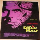 The Dark Half promotional movie poster - rolled, NM / MINT