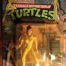 April O'Neil TMNT Teenage Mutant Ninja Turtle action figure Toy Biz 1988 MIP 1st series leg stripes
