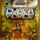 Cyber Force Mega Heroes multi-packs Cyblade, Psychotron & Heatwave 1995 MIP, CyberForce