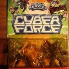 Cyber Force Mega Heroes multi-packs Major Stryker, Ballistic & Attack SHOC 1995 MIP, CyberForce