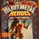 Marvel comics Heavy Metal Heroes Sabretooth (Sabertooth) die cast action figure, MIP