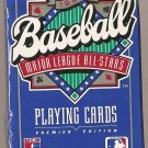 1990 MLB Baseball Major League All-Stars deck of playing cards MIP