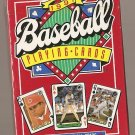 1991 MLB Baseball Major League All-Stars deck of playing cards MIP