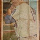1968 Topps baseball card poster #17 Ron Swoboda - VG / EX