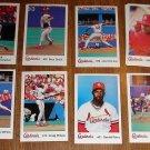 1990's St. Louis Cardinals Police Set baseball cards lot
