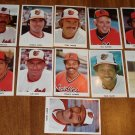 1970&#39;s (?) Baltimore Orioles baseball cards - Exhibit / Postcard card size lot Jim Palmer