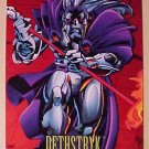 1993 Marvel Universe foil insert card - Dethstryk (deathstrike) #8 NM / M