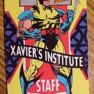 X-Men I.D. (Xmen ID) cards Danger Room Access, Staff, Student Trainee, Mutant - all 4, 1993, NM / M