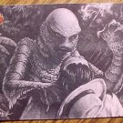 1991 Universal Monsters Illustrated Creature from the Black Lagoon card #74 NM/M