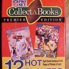 1990 Pro Set Collect-a-Books NFL football series 3 - 12 players, MIB