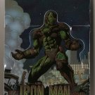 Marvel Comics & Wizard promo high gloss foil card - Iron Man die cut stand up NM/M